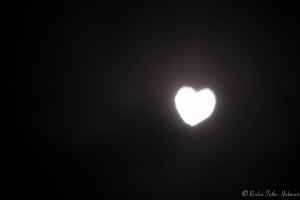 Moon Heart Bokeh