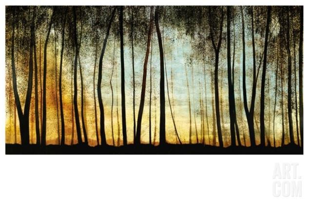 Golden Forest Art.com canvas