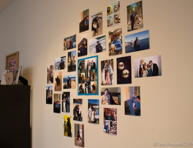 Gallery wall, april fool