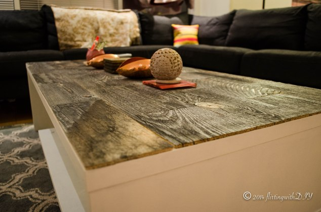 Stikwood coffee table update reclaim weathered wood