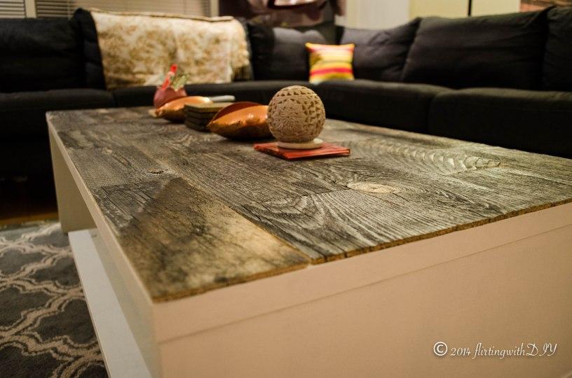 Stikwood coffee table update reclaim weathered wood
