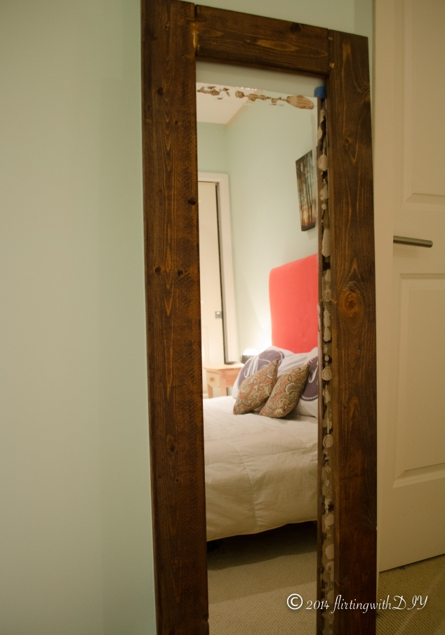 mirror wood frame diy